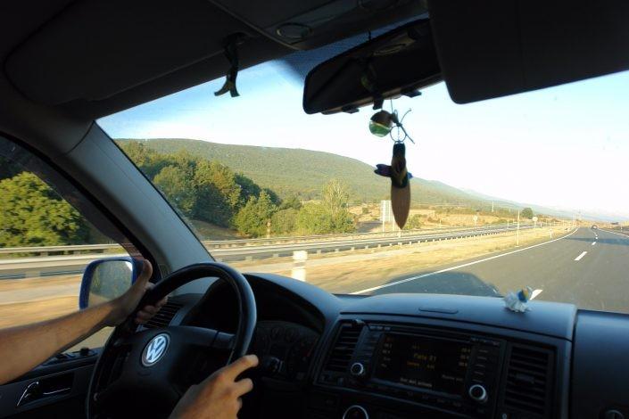 Ruta en carretera