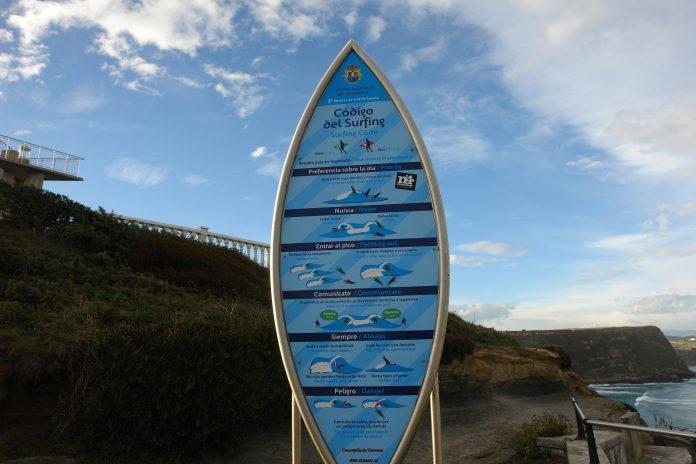 Normas básicas del surf