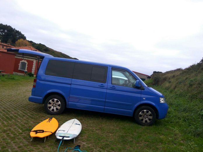 Transportar tablas de surf