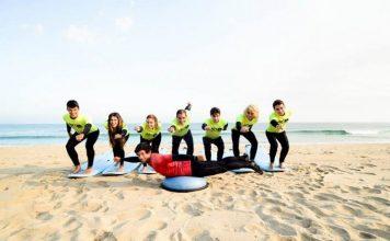 Alumnos en Art Surf Camp