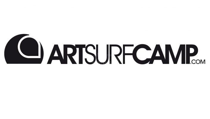 Logotipo Art Surf Camp