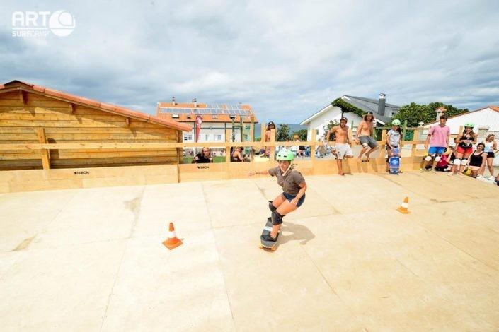 Skate park Art Surf Camp
