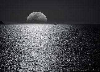 Efecto de la luna en la marea