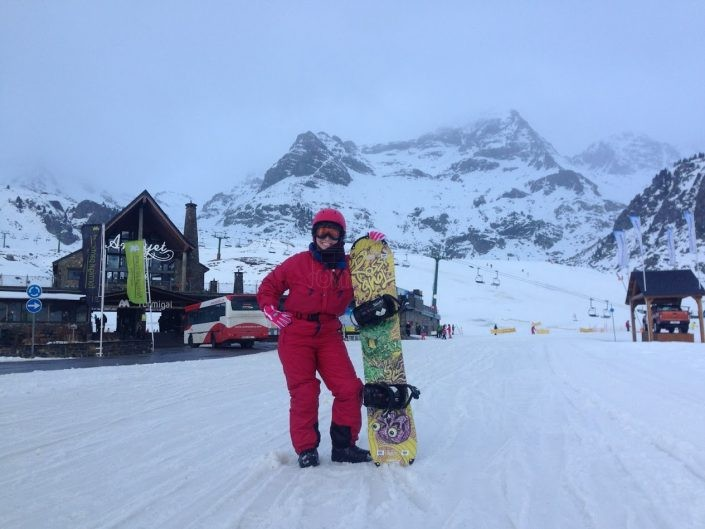 Snowboard en Formigal