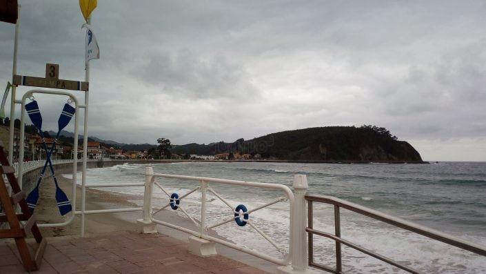 Playa de Santa Marina o Ribadesella