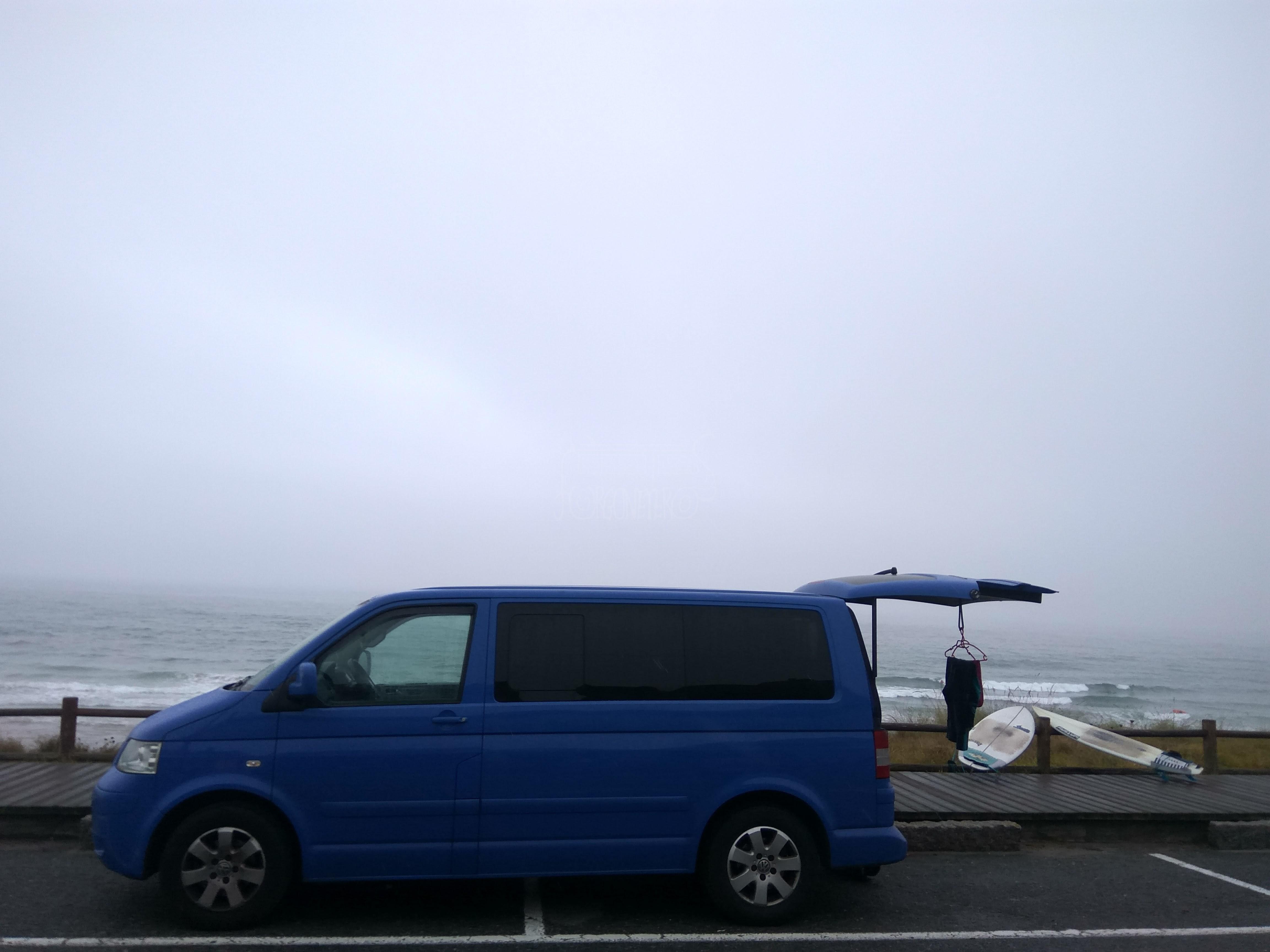 Ruta en Furgoneta por Galicia