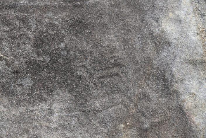 Petroglifo en roca