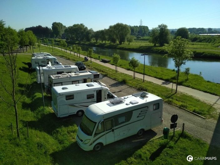 Caravanas en Bélgica