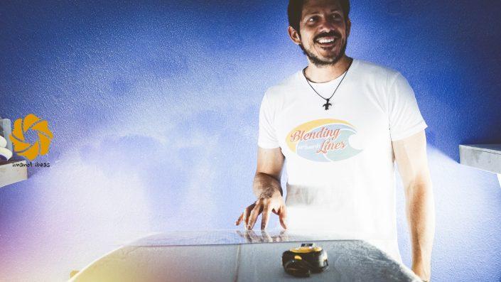 Furgoneteros con Blending Lines surfboards: Pablo Espinoza