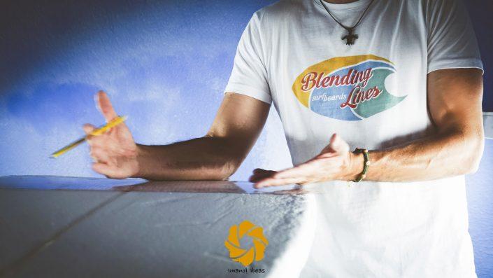 Furgoneteros con Blending Lines surfboards: Fin entrevista