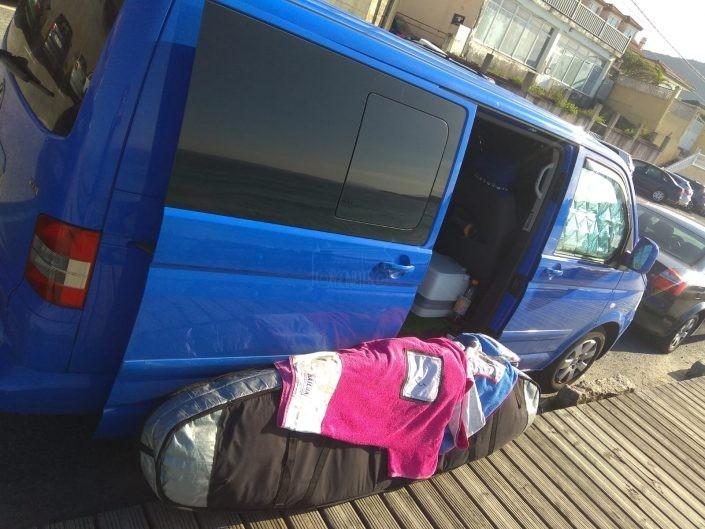 Vida en furgoneta