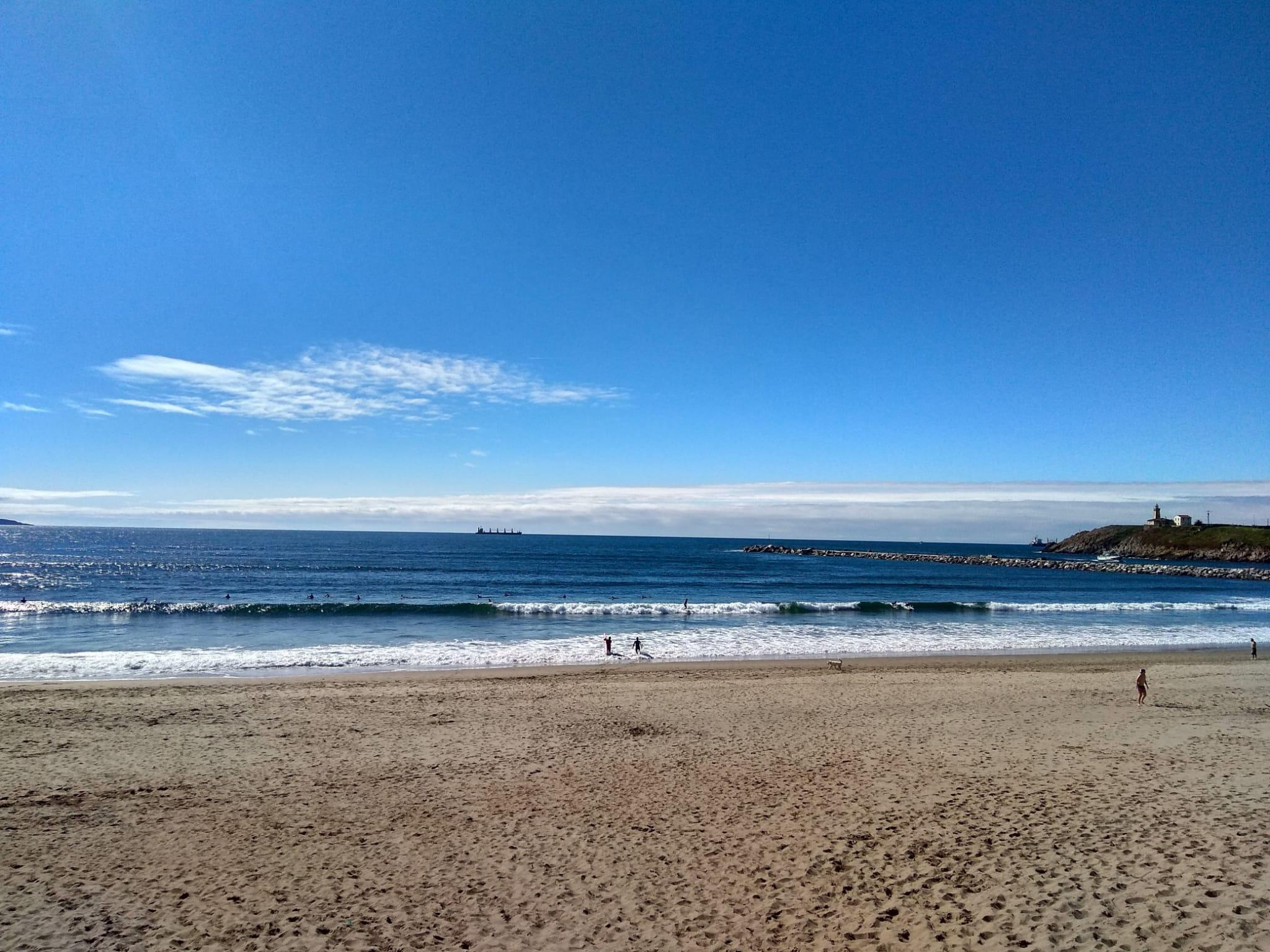 Playa de San Juan en Asturias