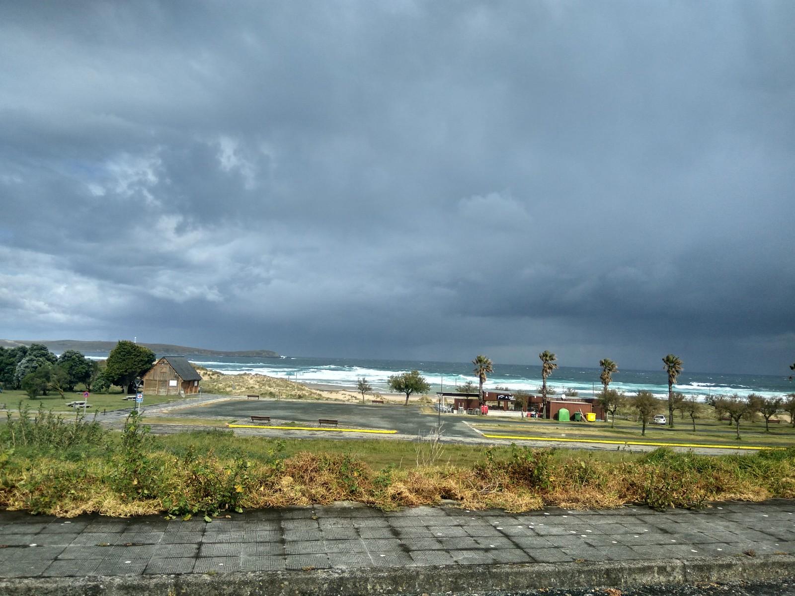 Playa de Valdoviño en Galicia