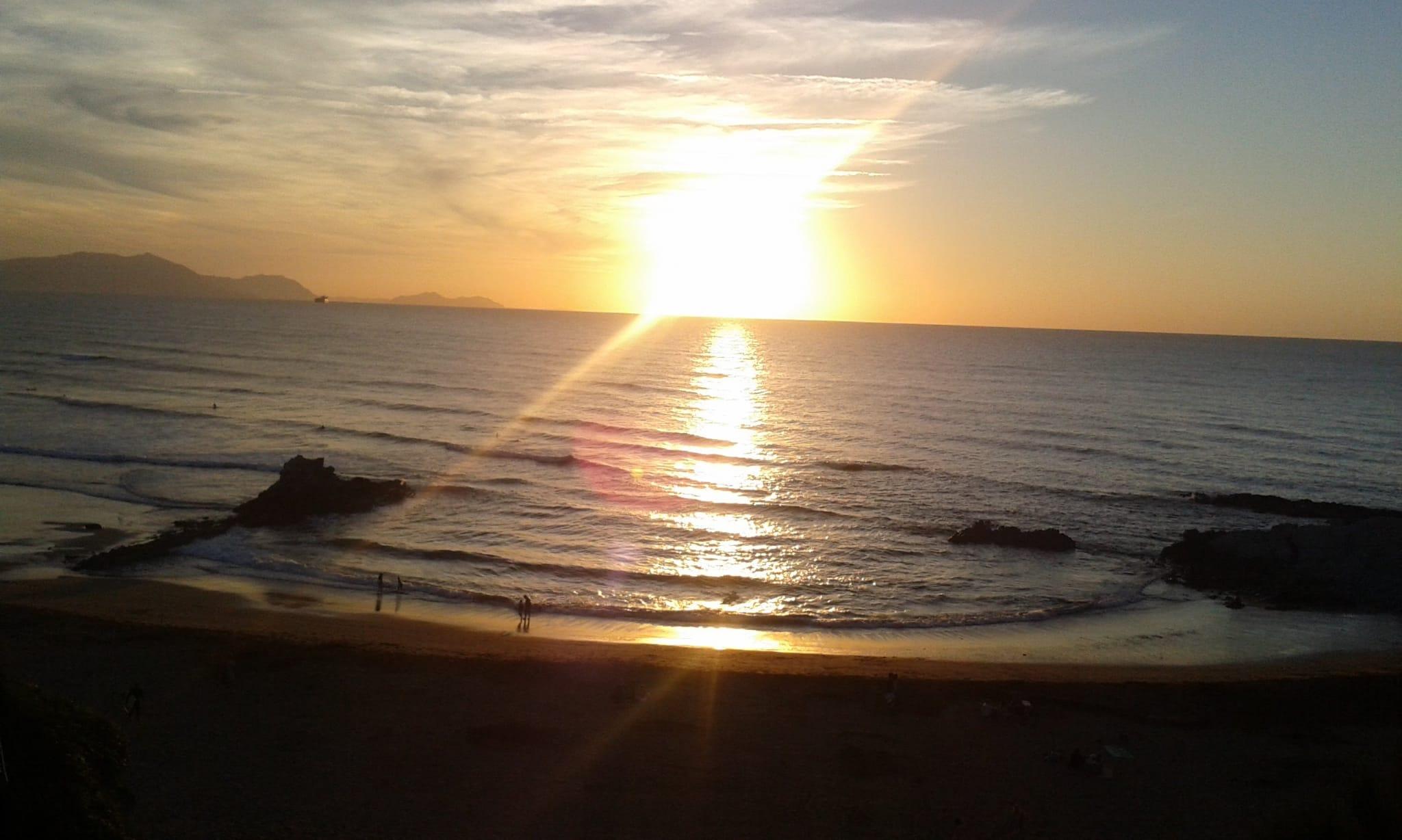Playa de Sopelana en País Vasco
